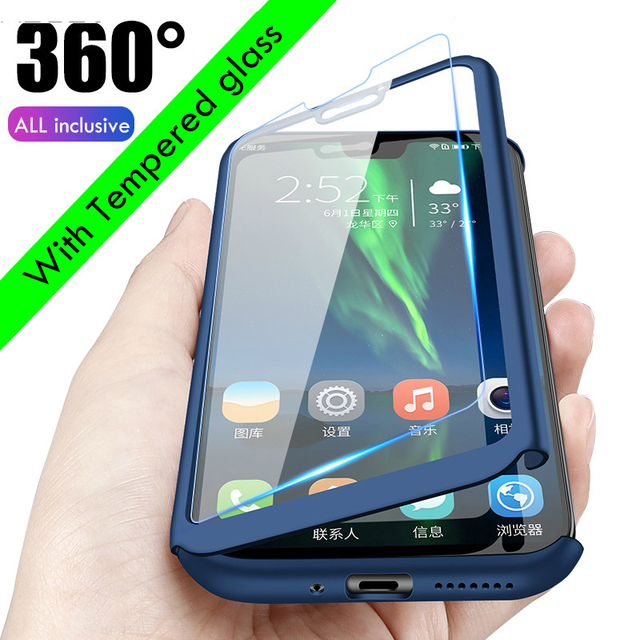 360 pleine Étuis De Protection pour Huawei Honor 9C 9S 9X 6C 7A 7C V30 Pro 7S 7X 8A 8S 8C 8X Honor 10 Lite 10i 8 20S Pro V10 V20 Couverture
