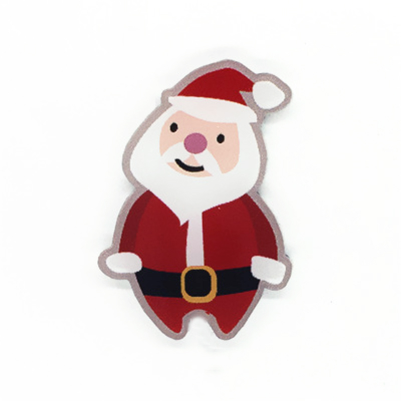 Cartoon Elk Acrylic Lovely Clothing Ornament Badge Women Girls Fashion Cute Jewelry Brooches Pin Christmas Decoration Gift in Brooches from Jewelry Accessories