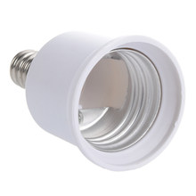 E12 - E27 Candelabra Bulb Lamp Socket Enlarger Adapter(China)