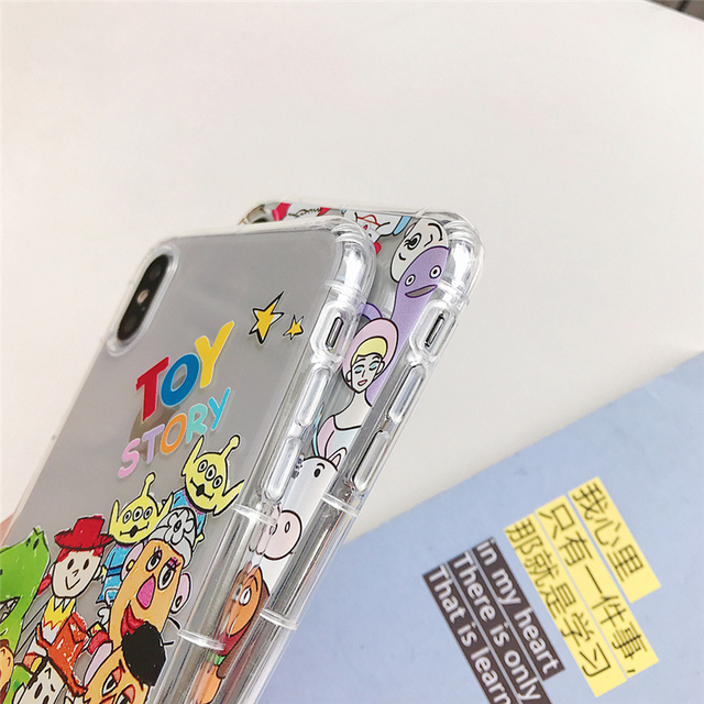 Cute Hand drawn doodle toy story case For iphone