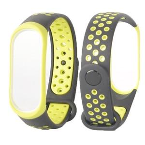 Image 5 - For Mi Band 3 4 strap sport Silicone watch wrist Bracelet miband strap accessories bracelet smart for Xiaomi mi band 3 4 strap