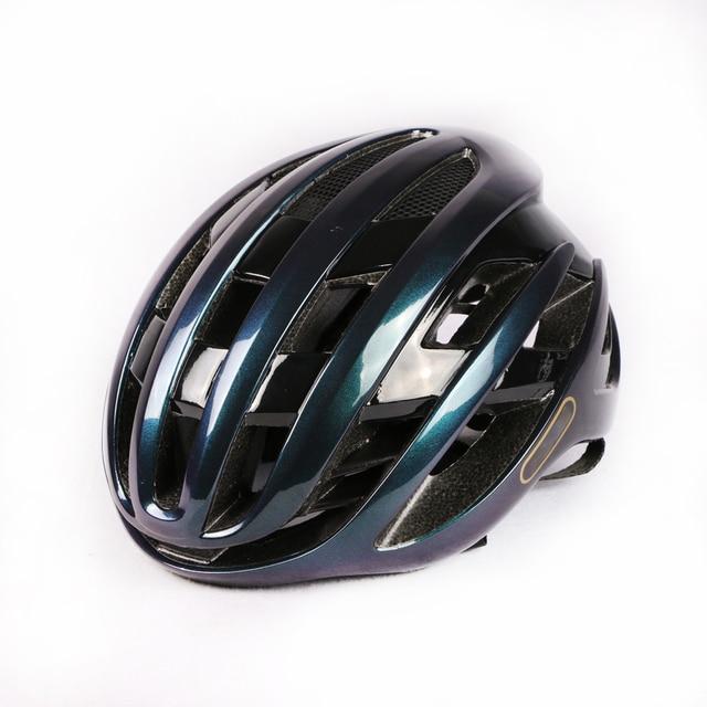 2020 novo ar ciclismo capacete de corrida da bicicleta estrada aerodinâmica vento capacete dos homens esportes aero capacete da bicicleta casco 3