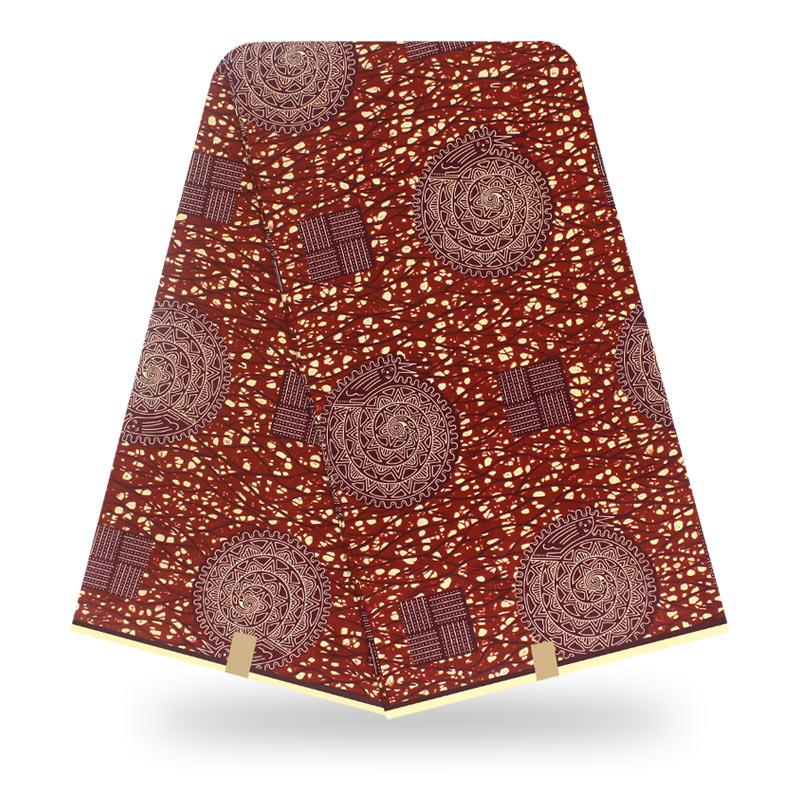 2020 Real Veritable African Wax High Quality Pagne Hot Wax Veritable 6yards Wax Africain Ankara Sewing Fabric
