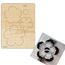 Decorative flower cutting dies 2021 new die cut & wooden dies Suitable for common die cutting machines on the market