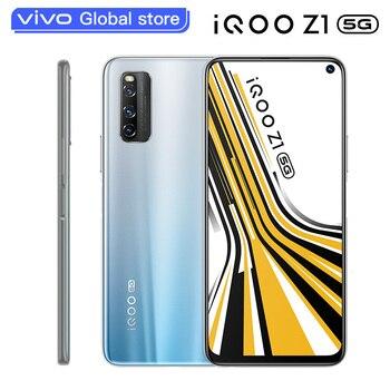 Перейти на Алиэкспресс и купить Vivo iQOO Z1 5G 8 Гб 256 ГБ МТК 1000 Plus смартфон 44W 4500 мА/ч, 48.0MP KPL игровой NFC Celular 144 Гц Частота обновления мобильный телефон