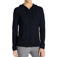 Women Sport Classic Jacket Women Slim Fit Spring Long Sleeve Zipper Hoodie Thin Jacket Coat Female Causal Sport Cardigan