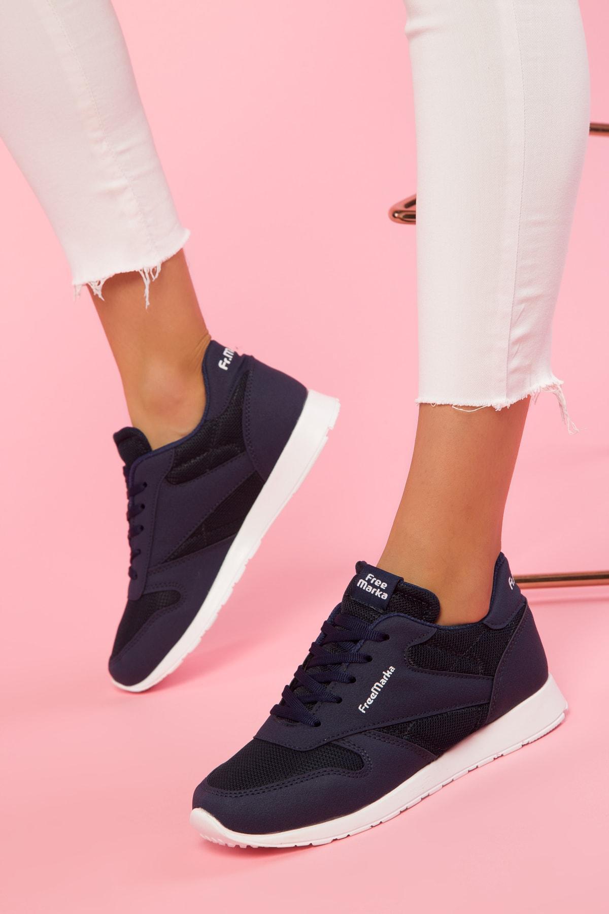 navy blue tennis shoes womens