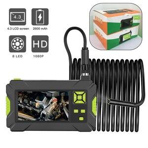 Image 1 - Kebidumei P30 อุตสาหกรรมEndoscope Borescopeมือถือกล้อง 4.3 นิ้วLCD 1080P HDกล้องตรวจสอบEndoscope 8mm