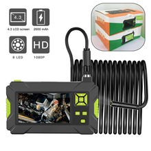 Kebidumei P30 Industriële Endoscoop Handheld Borescope 4.3Inch Camera Lcd Monitor 1080P Hd Video Inspectie Camera Endoscoop 8Mm