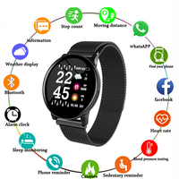 Uwatch2 Smart Watch 1.33inch Full Touch Screen IP67 Waterproof Smartwatch 25 Days Standby Time For Android IOS Phone