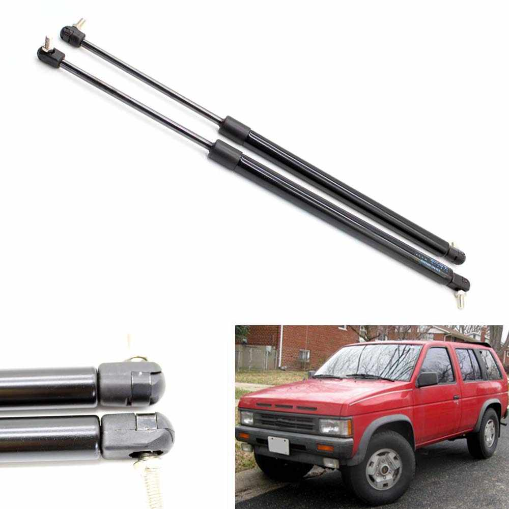 Grebest Tailgate Car Exterior Parts Tailgate Support 2Pcs Rear Window Gas Struts Tailgates Liftgates Support for Nissan Pathfinder