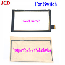 JCD 2PCS/Set Replacement for Nintend Switch Touch Screen Digitizer +Adhesive Strips Sticker for NS Switch