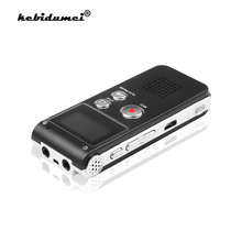 Kebidumei 8GB 3in 1 Mini USB Flash Disk Drive registratore vocale Audio digitale 650Hr dittafono lettore MP3 Stereo 3D Grabadora