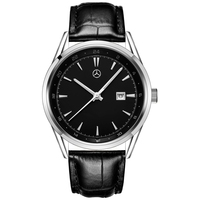 MERCEDES BENZ Men's Quartz Watch with Leather Strap Fashion Business Wrist Watch mens watches top brand luxury