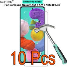 10 Pcs/Lot For Samsung Galaxy A51 / A71 / Note10 Lite 9H Har
