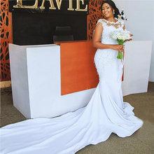 """В африканском стиле свадебное платье 2020 с силуэтом """"Русалка"""""""