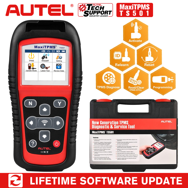 Autel TS501/TS508K TPMS Service tool S tire pressure monitoring system Reset tool Activate programing sensor and Read  DTC code