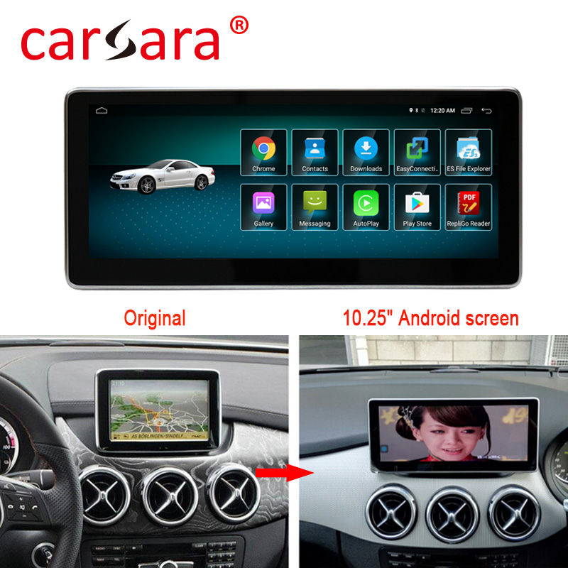 4+64G Android Multimedia Touch Screen for <font><b>Mercedes</b></font> Benz B Class <font><b>W246</b></font> Car Comand Display upgrade with Radio GPS Navigation image