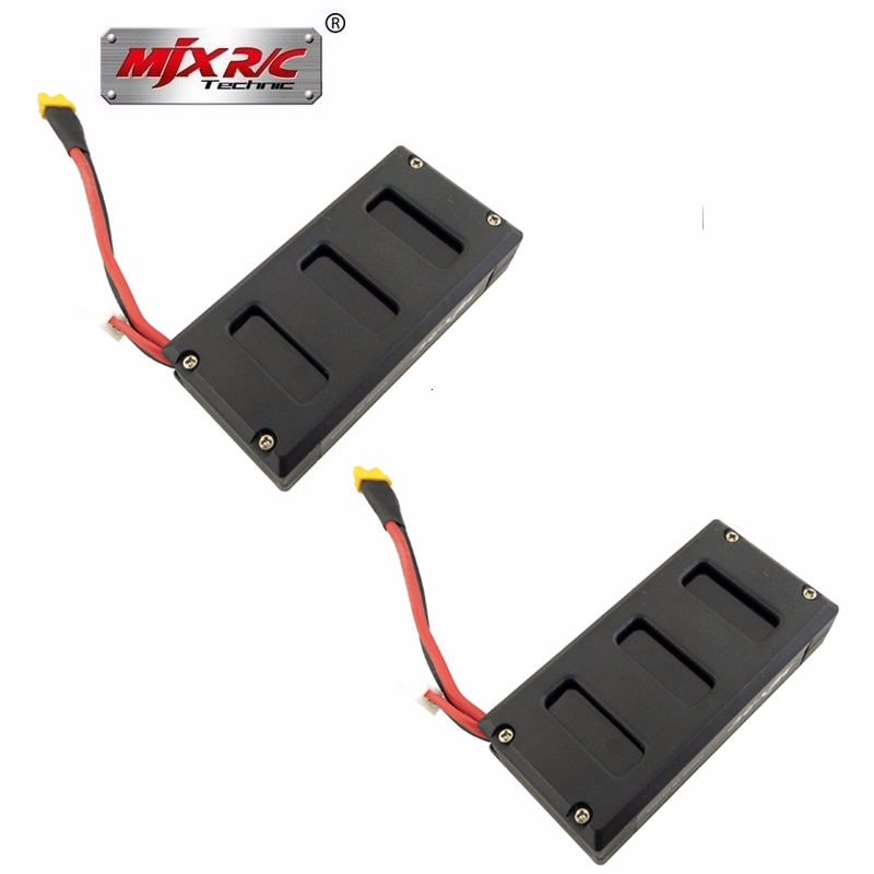 Original Drones Lipo Battery For MJX Bugs 6 Battery 7.4V 1300mAh Lithium Battery for MJX B6 Brushless RC Quadcopter Spare Parts image