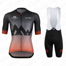 LE COL 2020 pro team cycling jersey kit men summer set maillo racing bicycle MTB clothing ropa de ciclismo hombre bib shorts 2020 new cycling jersey set pro cycling kits summer men racing bicycle maillot ciclismo mtb short jersey bib shorts team suit