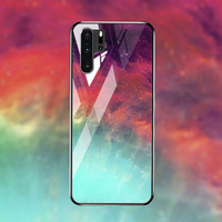 silicone case Tempered Glass Case For Huawei P30 P20 pro Cases Space Silicone Covers for Huawei P30 P20 lite 2019 P20 lite 2018 back cover (4)