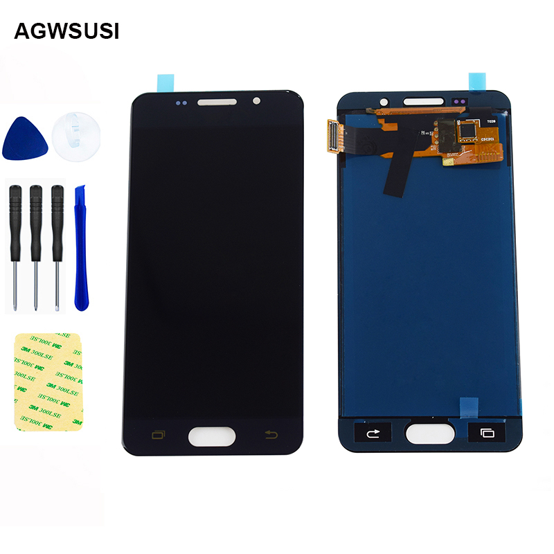 For Samsung Galaxy A3 2016 LCD Screen A310 lcd A310F A310H A310M A310Y LCD Display Panel Touch Screen Digitizer Glass Assembly