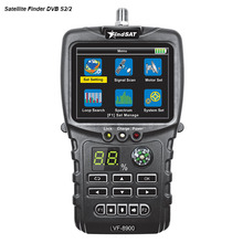 VF-8900 Sat Finder For Satellite Receiver DVB S2/DVB S Dish TV Satfinder Compass Satellite Finder Meter Loop Search Spectrum