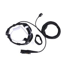 XQF Throat Mic Mikrofon Air Rohr Ohrhörer PTT Kopfhörer für Motorola Tetra Walkie Talkie MTP3250 MTP3100 DP2400 CB Radio(China)