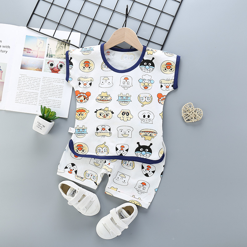 2020 Summer Children Suits For Boys And Girls Short Sleeve Sets For Baby Boys Two Clothes T shirt + Shorts Sets Toddler Clothing