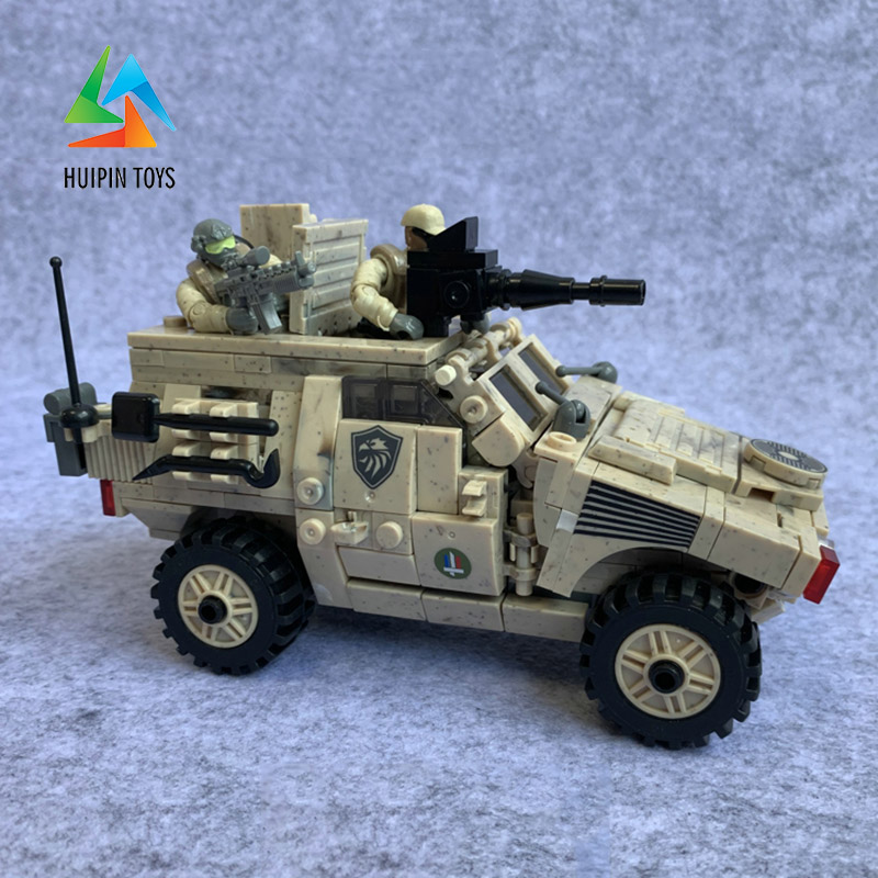 Xingbao Building Blocks Military Armored Vehicle Toys Off-road Vehicle 451 PCS