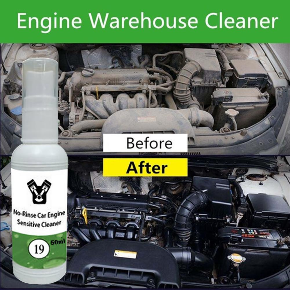 20/50ML Car Engine Compartment Cleaner Remove Heavy Oil Engine Warehouse Cleaner Automotive Glass Cleaning Tool Auto Accessories