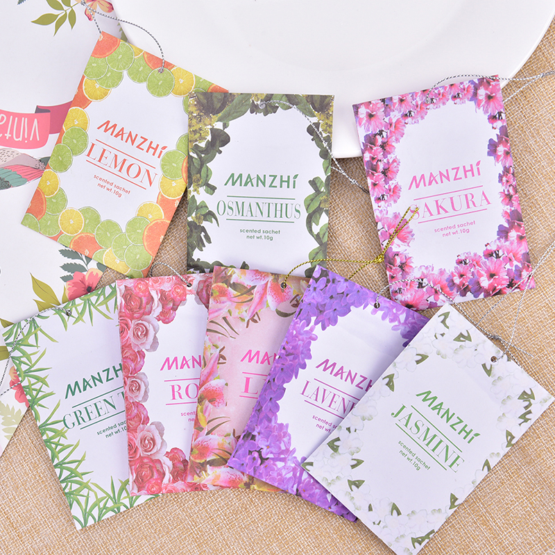 Aromatherapy Air Fresh Refreshing Scent Bag Natural Smell Incense Wardrob Sachet