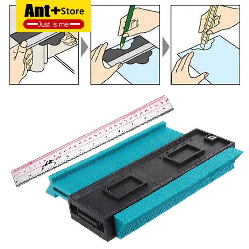 Outdoor Tools 4 Inch/120 Mm Plastic Contour Copy Duplicator Circular Frame Profile Gauge Tool Contour Kopie Replicator