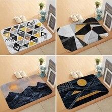 Carpet Doormat Floor-Mat Anti-Slip Bathroom Living-Room Printed Kitchen Cartoon
