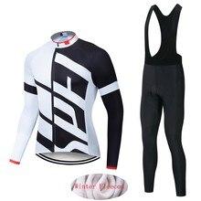 2021 specializeding inverno camisa de ciclismo térmica velo manga longa conjunto roupas ciclismo maillot ropa invierno jaqueta