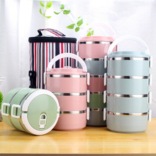 Lunch Box Stainless Steel 100% Leakproof Container  Food Storage For Kids & Adults