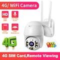 1080p HD IP камера 3G 4G 5x zoom камера безопасности наружная внутренняя камера безопасности сферическая камера