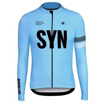 Jersey de Ciclismo 2020 BIEHLER team, camisetas finas de manga larga para...