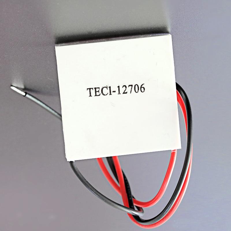 10Stks 12V 60W TEC1-12706 Heatsink Thermoelectric Cooler Peltier Cooling Plate