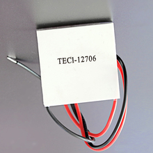 цена на 2PCS/Lot TEC1-12706 12V 60W Thermoelectric Cooler Peltier For Water Dispenser Refrigeration Equipment Peltier Element Module