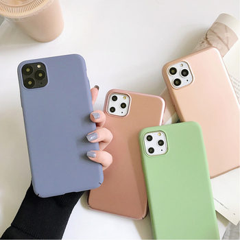 Huawei Honor mobile phone case anti-drop NovaPlus silicone Nova7pro frosted simple P8Lite soft case P40 30PRO 20 8Lite/maimang5 image