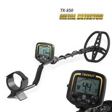 TIANXUN TX 850 Portatile Facile Installazione Sotterraneo Metal Detector Ad Alta Sensibilità del Metallo di Rilevamento Strumento con Display LCD