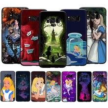EWAU Alice in Wonderland Soft TPU phone cover case for
