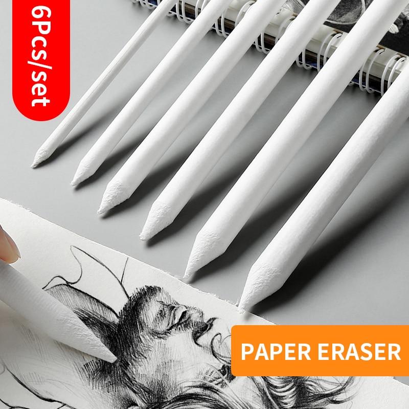 Dedicated Sketch Paper Pen 6Pcs/Set Paper Erase Marker Paper Sketch Art Painting Supplies Painting Pen For School Students