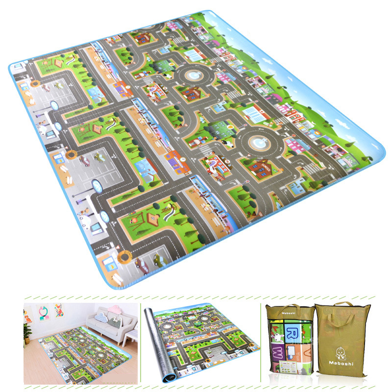 He5ef1b361ec84c8d92ddef1e397d03430 Baby Play Mat Kids Developing Mat 200*180*0.5 cm Thick Gym Games Play Puzzles Baby Carpets Toys For Children's Rug Soft Floor