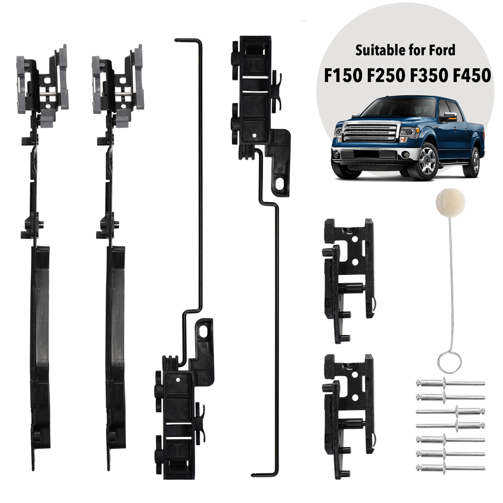 Sunroof Track Assembly Repairing Kit For Ford F-150 F-250 F-350 F-450 Expedition Sunroof Repairing Kit