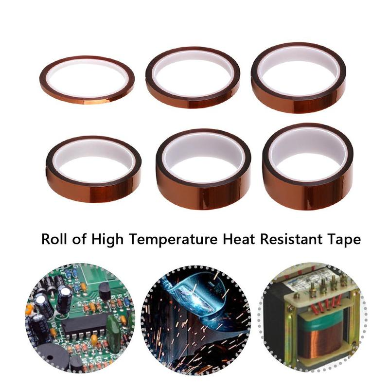 New High Temperature Heat BGA Tape Thermal Insulation Tape 3d Printing Board Protect Polyimide Adhesive Insulating Adhesive Tape