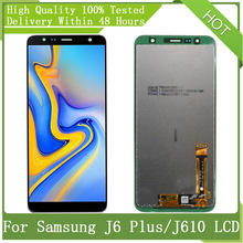 Digitizer-Assembly-Replacement Touch Display Amoled J6 Service-Pack Samsung Galaxy J610FN