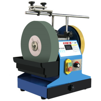 Water Mill Grinder Water Cooling Grinding Machine Grinding Wheel Electric Knife Sharpener Desktop Small Household 220V Scissors small stainless steel 400 g powder machine ultrafine grinding machine chinese household electric grinder mill grind