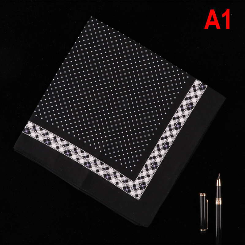 Casual Cotton Handkerchiefs Plaid  Printing Plaid Streak Pocket Square Mens Square Pockets Handkerchief Towels